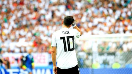 Gelandang Tim Nasional Jerman Mesut Ozil. - INDOSPORT
