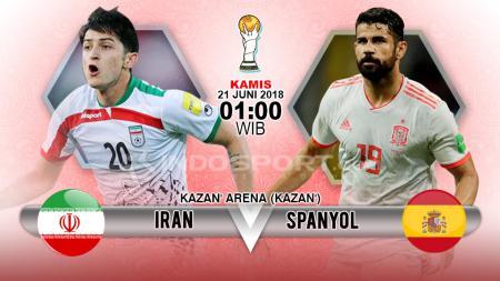 Prediksi Iran vs Spanyol - INDOSPORT