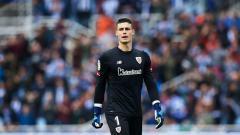 Indosport - Kepa Arrizabalaga, kiper Timnas Spanyol dari klub Atletic Bilbao.