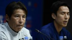 Indosport - Pelatih timnas Thailnad, Akira Nishino.