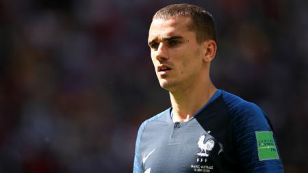Antoine Griezmann, kapten Timnas Prancis di Piala Dunia 2018. - INDOSPORT