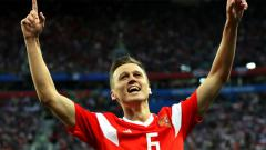 Indosport - Denis Cheryshev, bintang Timnas Rusia di Piala Dunia 2018.
