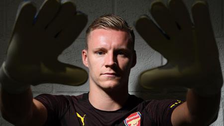 Berita bursa transfer: kiper Arsenal, Bernd Leno, kabarnya menjadi salah satu calon pengganti Manuel Neuer di Bayern Munchen. - INDOSPORT