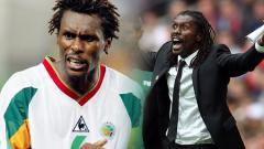 Indosport - Aliou Cisse, pelatih Timnas Senegal di Piala Dunia 2018