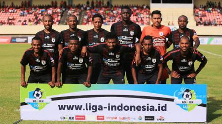 Skuat Persipura Jayapura di Liga 1 2018 lalu. - INDOSPORT