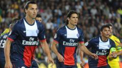 Indosport - Mantan penyerang Paris Saint-Germain, Zlatan Ibrahimovic, disebutkan membenci sosok Edinson Cavani selama membela Les Parisiens