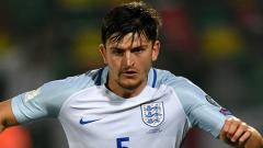 Indosport - Harry Maguire timnas Inggris