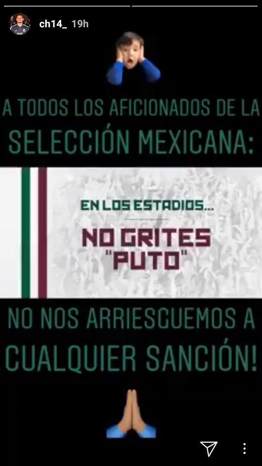 Pesan striker Javier Hernandez kepada para penggemar Meksiko Copyright: Instagram/Javier Hernandez