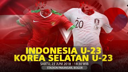 Indonesia U23 vs Korea Selatan U23 - INDOSPORT