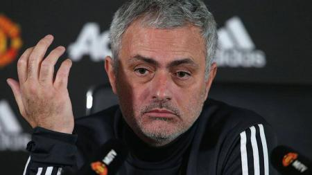 Jose Mourinho, pelatih Manchester United. - INDOSPORT