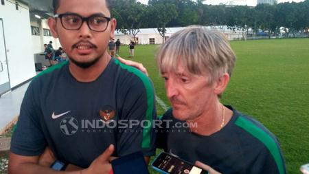 Miguel Gandia, pelatih fisik Timnas Indonesia U-23 - INDOSPORT