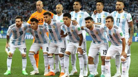 Skuat Tim Nasional Argentina di Piala Dunia 2018. - INDOSPORT