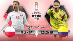 Indosport - Polandia vs Kolombia
