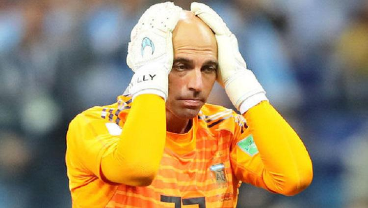 Kiper Argentina, Willy Caballero. Copyright: Daily Express