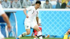 Indosport - Son Heung-min, andalan Timnas Korea Selatan di Piala Dunia 2018.