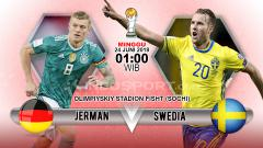 Indosport - Jerman vs Swedia