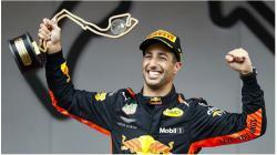 Ricciardo meraih juara di GP Monako 2018.