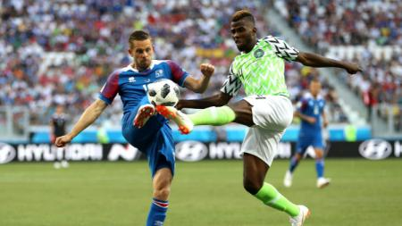 Laga kedua Grup D Piala Dunia 2018, antara Nigeria vs Islandia, Jumat (22/06/18) malam. - INDOSPORT