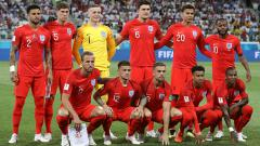 Indosport - Skuat Timnas Inggris di Piala Dunia 2018.