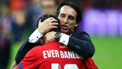 Indosport - Unai Emery dan Ever Banega