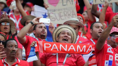 Fans Panama senang meski timnya kalah - INDOSPORT