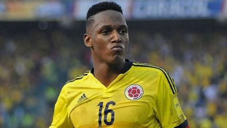 Yerry Mina, pemain belakang Kolombia. - INDOSPORT