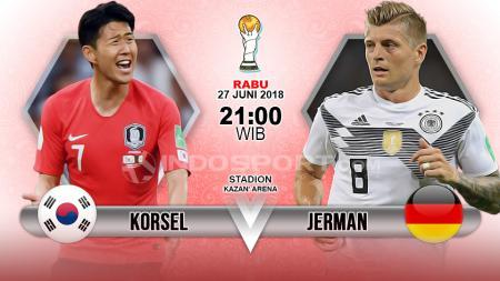 Prediksi Korea Selatan vs Jerman. - INDOSPORT