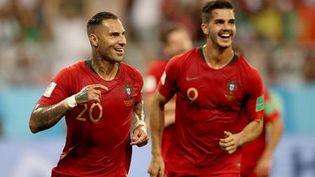 Ricardo Quaresma dan Andre Silva di Timnas Portugal di Piala Dunia 2018. - INDOSPORT
