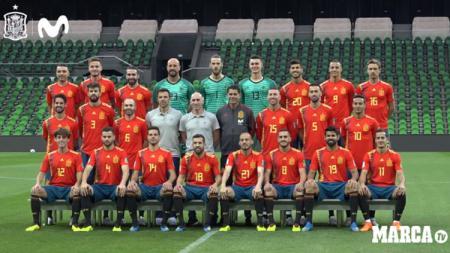 Skuat Timnas Spanyol terbaru. - INDOSPORT