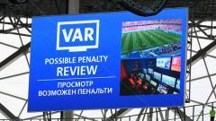 Indosport - Peran VAR di Piala Dunia 2018.