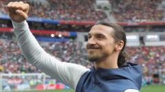 Indosport - Mantan penyerang Juventus, Zlatan Ibrahimovic menyebut jika Ronaldo adalah striker favoritnya.