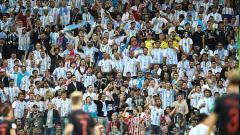 Indosport - Fans Argentina di Piala Dunia 2018.