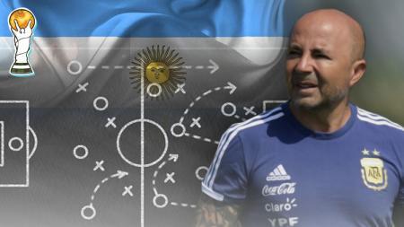 Beberapa taktik yang sudah disiapkan Argentina untuk laga nanti malam. - INDOSPORT