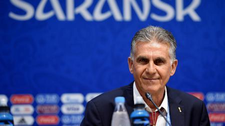 Carlos Queiroz, pelatih Iran. - INDOSPORT