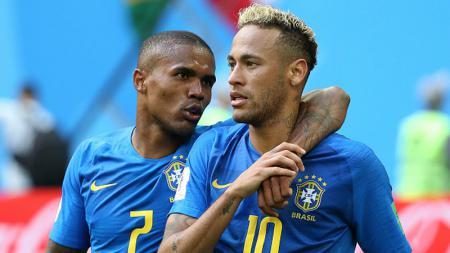 Douglas Costa dan Neymar - INDOSPORT