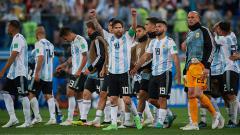 Indosport - Skuat Argentina.