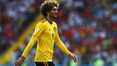 Indosport - Gelandang tengah Tim Nasional Belgia Marouane Fellaini.