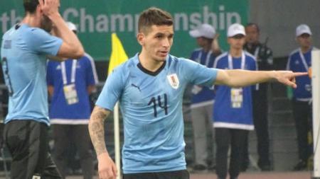 Torreira saat membela Uruguay. - INDOSPORT