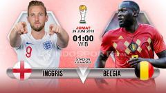 Indosport - Prediksi Inggris vs Belgia