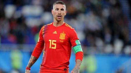 Sergio Ramos, kapten Timnas Spanyol di Piala Dunia 2018. - INDOSPORT