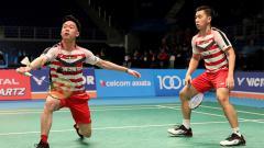 Indosport - Kevin dan Marcus di Malaysia Open 2018