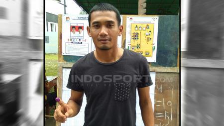 Legimin Raharjo, nyoblos juga, ini harapan kapten PSMS untuk Gubernur Sumut. - INDOSPORT