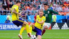 Indosport - Swedia vs Meksiko.