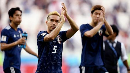 Jepang tetap lolos ke babak 16 besar meski kalah dari Polandia di laga terakhir fase grup. - INDOSPORT