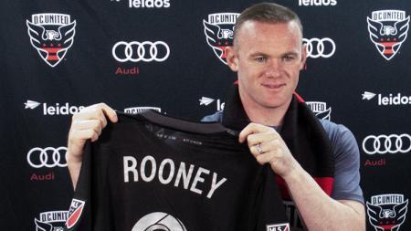 Wayne Rooney gabung DC United - INDOSPORT