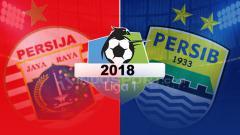 Indosport - Persija Jakarta vs Persib Bandung.