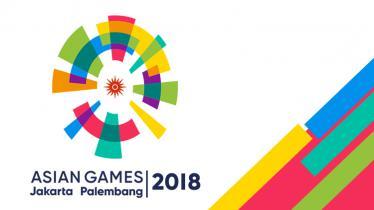 LOGO ASIAN GAMES 2018. - INDOSPORT