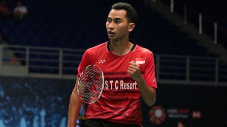 Tommy Sugiarto di babak kedua Malaysia Open 2018. - INDOSPORT