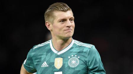 Gelandang Timnas Jerman, Toni Kroos. - INDOSPORT
