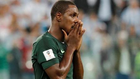 Odion Ighalo merestui Manchester United untuk mendatangkan penyerang Lille asal Nigeria, Victor Osimhen. - INDOSPORT